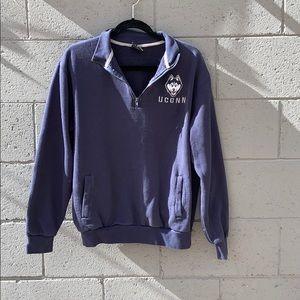 UConn crewneck hoodie